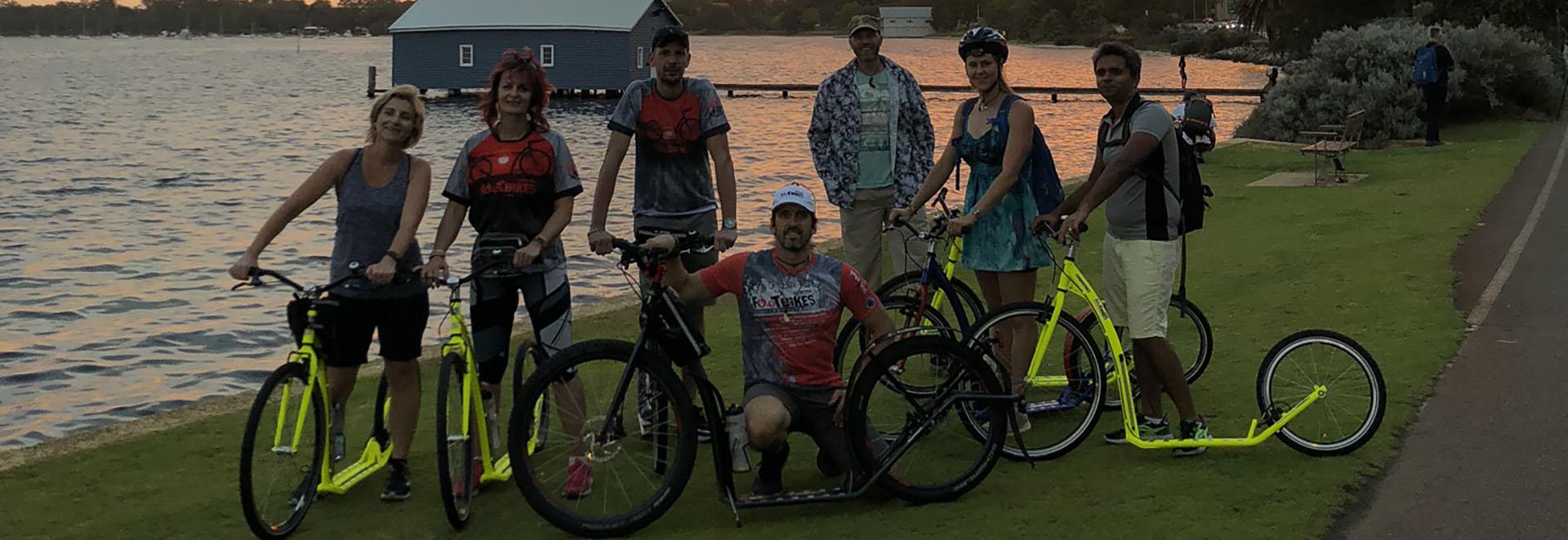 Social Rides on Footbikes